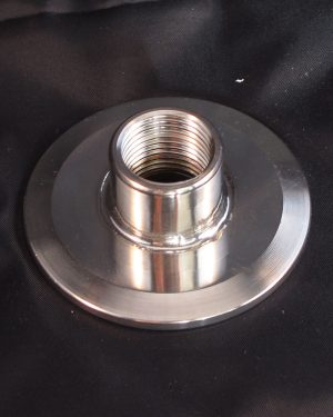 2 Inch to 1/2 Inch Female NPT Tri-clover Conversion Plate