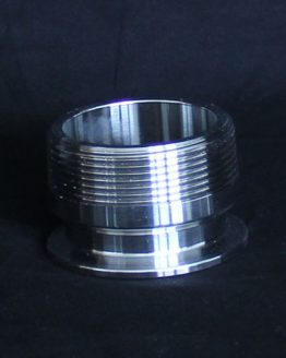 2 Inch to 2 Inch Male NPT Tri-clover Conversion Plate
