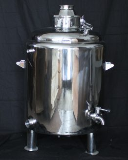 26 Gallon (100L) Double-Walled Stainless Steel Boiler