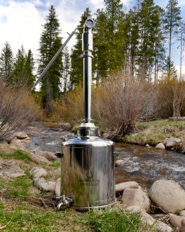 26 Gallon Stainless Steel Dual Reflux Still