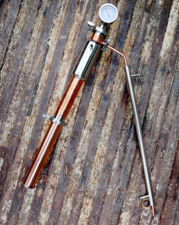 Copper Dual Purpose Still Tower - 2 Inch