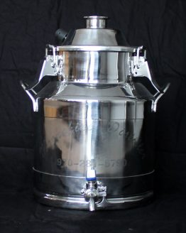 Stainless Steel Milk Can Boiler - 3 Gallon