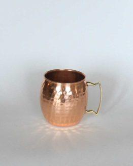 Copper Moscow Mule  Barrel-style Mug, 16 oz.