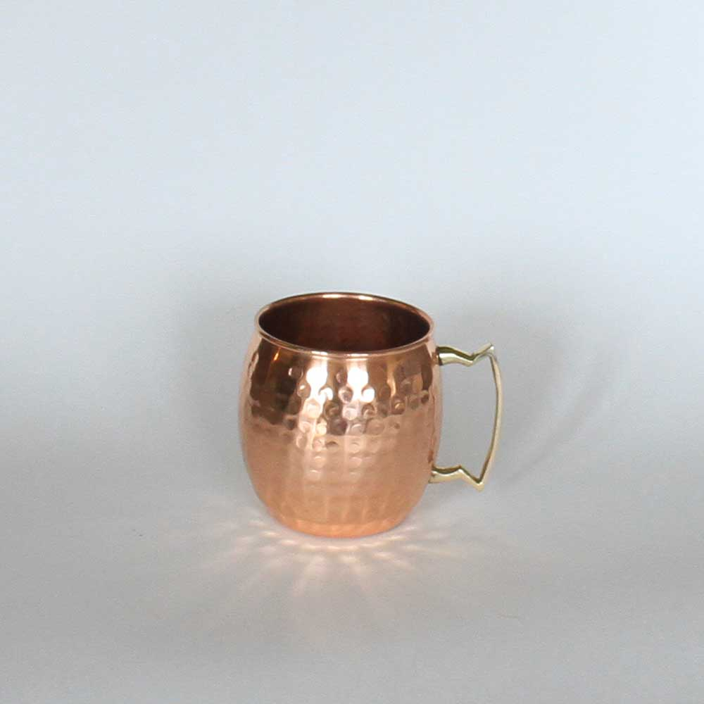 Copper Moscow Mule  Barrel-style Mug, 16 oz.