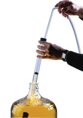 """Auto-siphon (racking tube) w/ tubing - 1/2"""""""