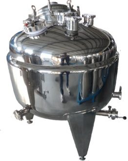 50 Gallon (200L) Jacketed Stainless Steel Kettle