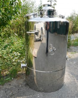 53 Gallon (200L) Single-Walled Stainless Steel Boiler