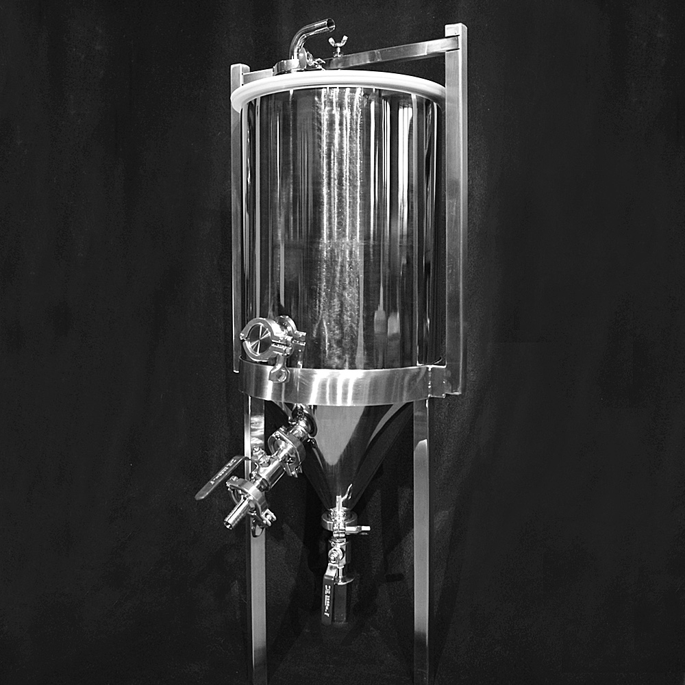 Stainless Steel Conical Fermenter - 8 Gallon