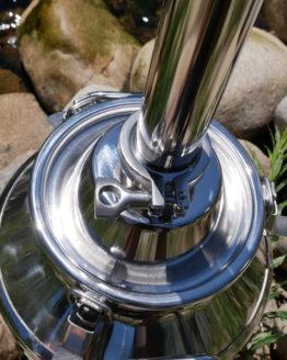 "8 Gallon Stainless Steel Still (Dual Purpose, 2"")"