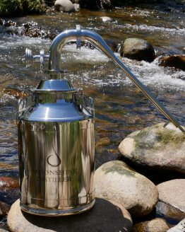 "8 Gallon Stainless Steel Still (Pot Still, 2"")"