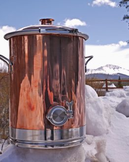8 Gallon Copper Boiler
