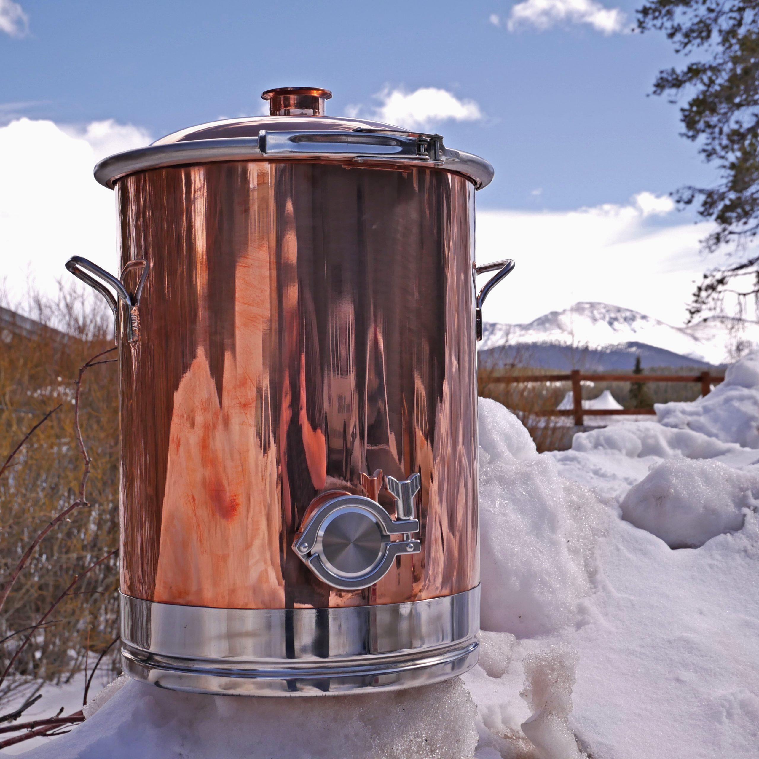 8 Gallon Copper Boiler
