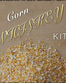 Corn Whiskey & Ingredients Kit and Recipe