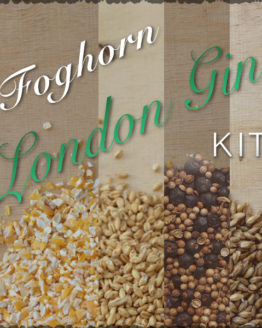 Foghorn - London Dry Gin Ingredients and Recipe Kit