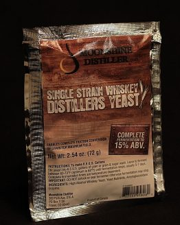 Moonshine Distiller's Whiskey Distillers Yeast
