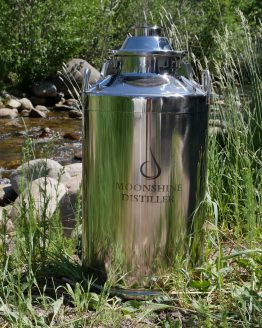 Stainless Steel Milk Can Boiler - 13 Gallon