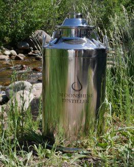 Stainless Steel Milk Can Boiler - 13 Gallon