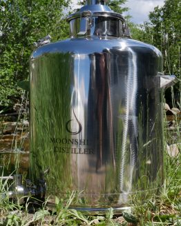Stainless Steel Milk Can Boiler - 26 Gallon