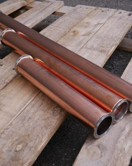 2 Inch Copper Column/Tower Extender with Clamp and Gasket