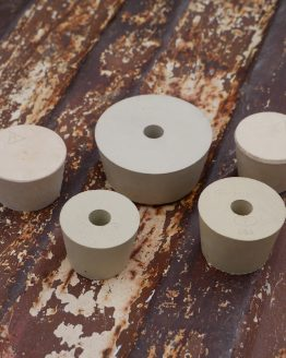 Drilled Stopper - Multiple Sizes