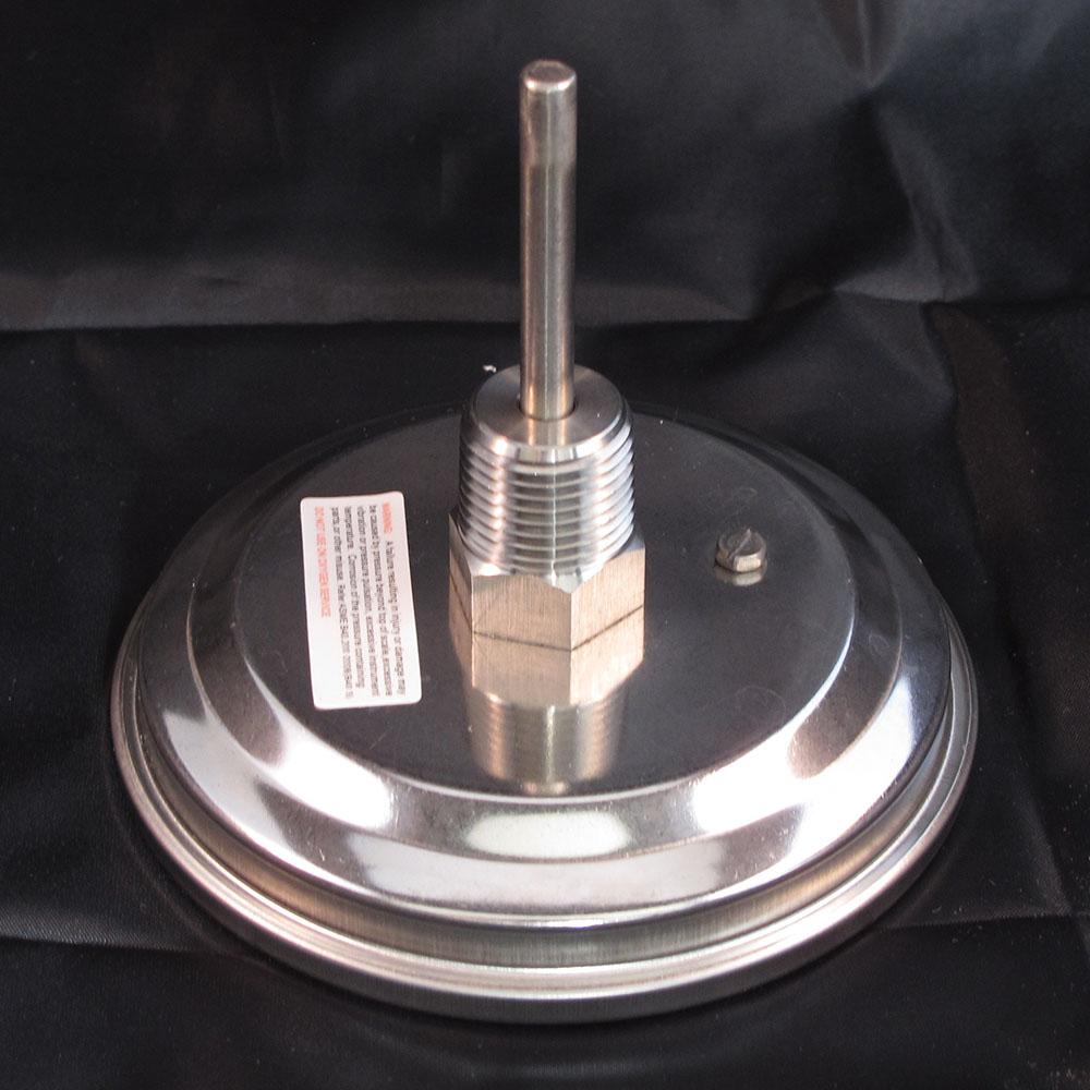"Premium Bi-Metal Thermometer - Stainless Steel, 3"" Dial"