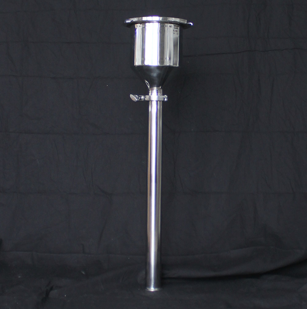 Carbon Filter System - Stainless Steel with Funnel/Hopper