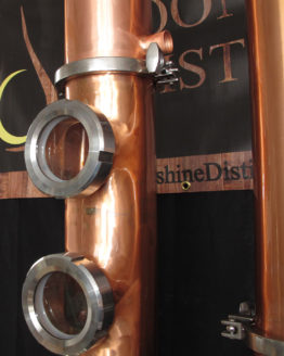 Copper Moonshine Still Column (a.k.a. the Flute)