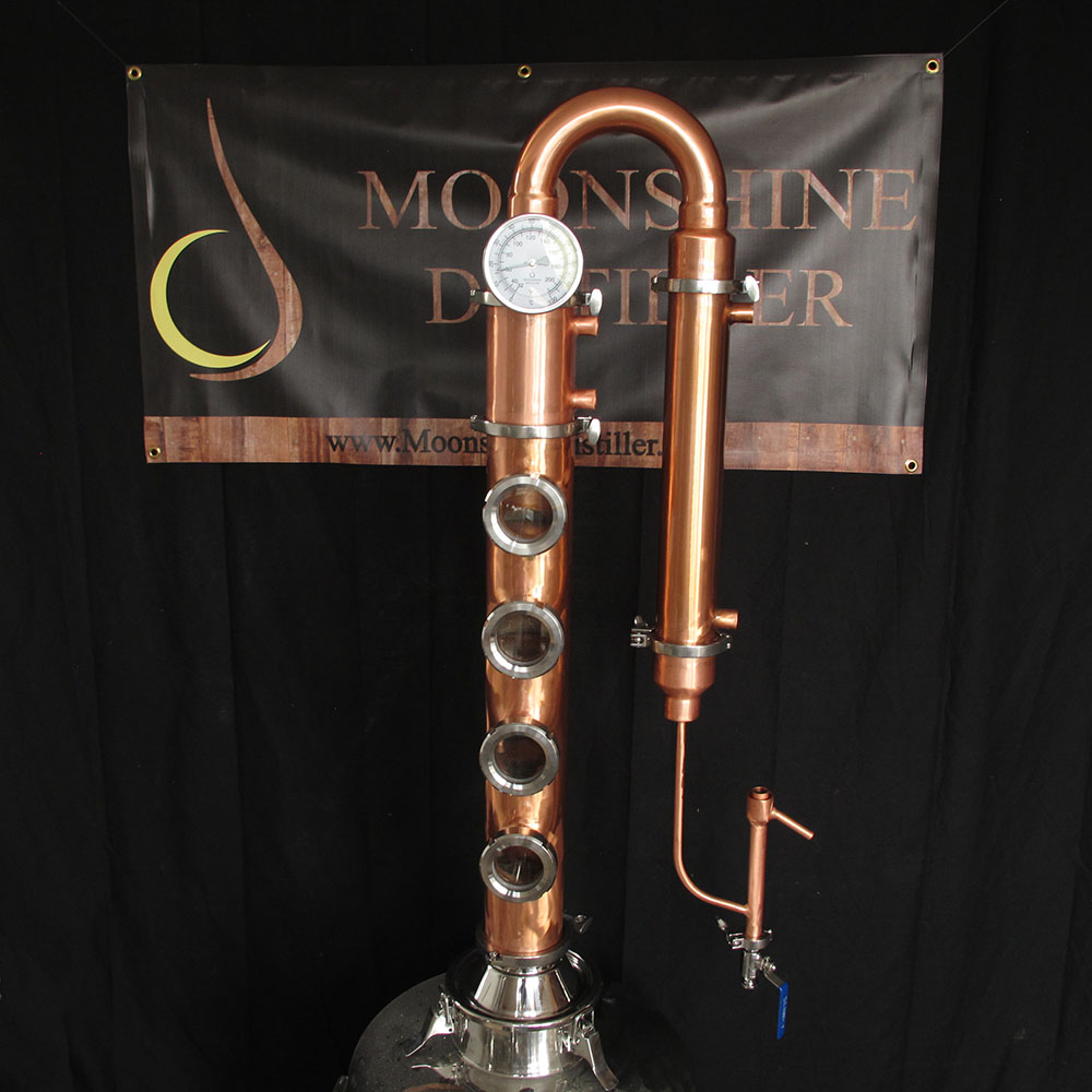 Copper Moonshine Still Column Copper Flute