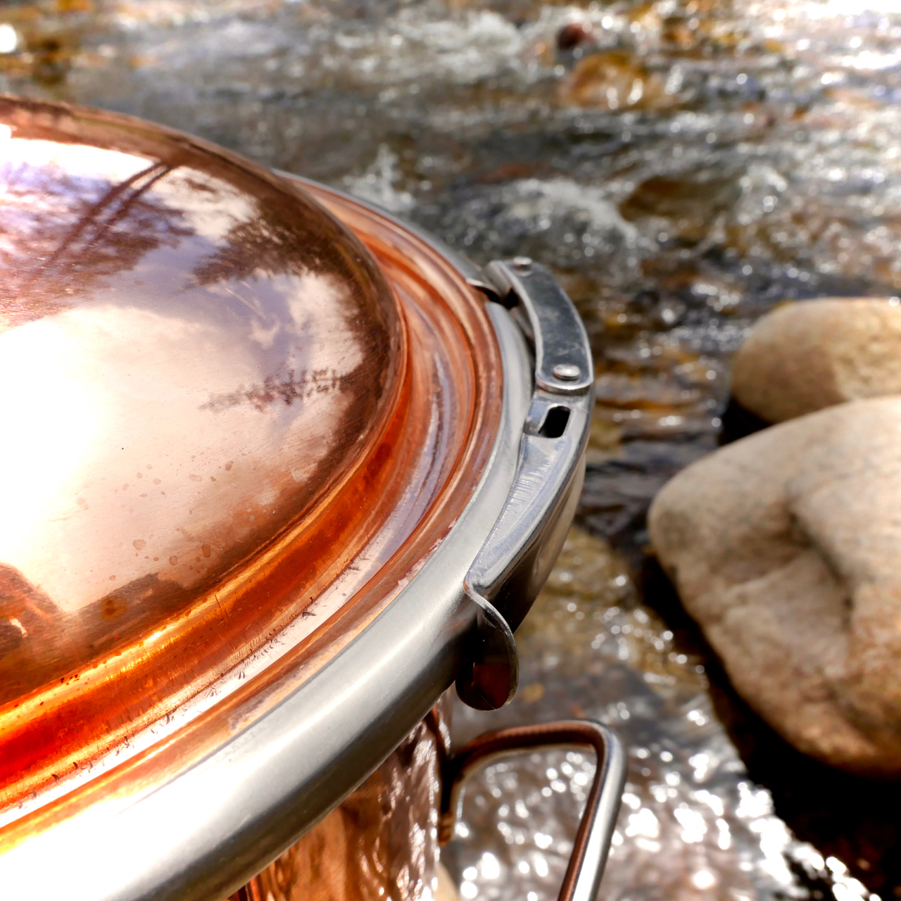 8 Gallon Copper Pot Still