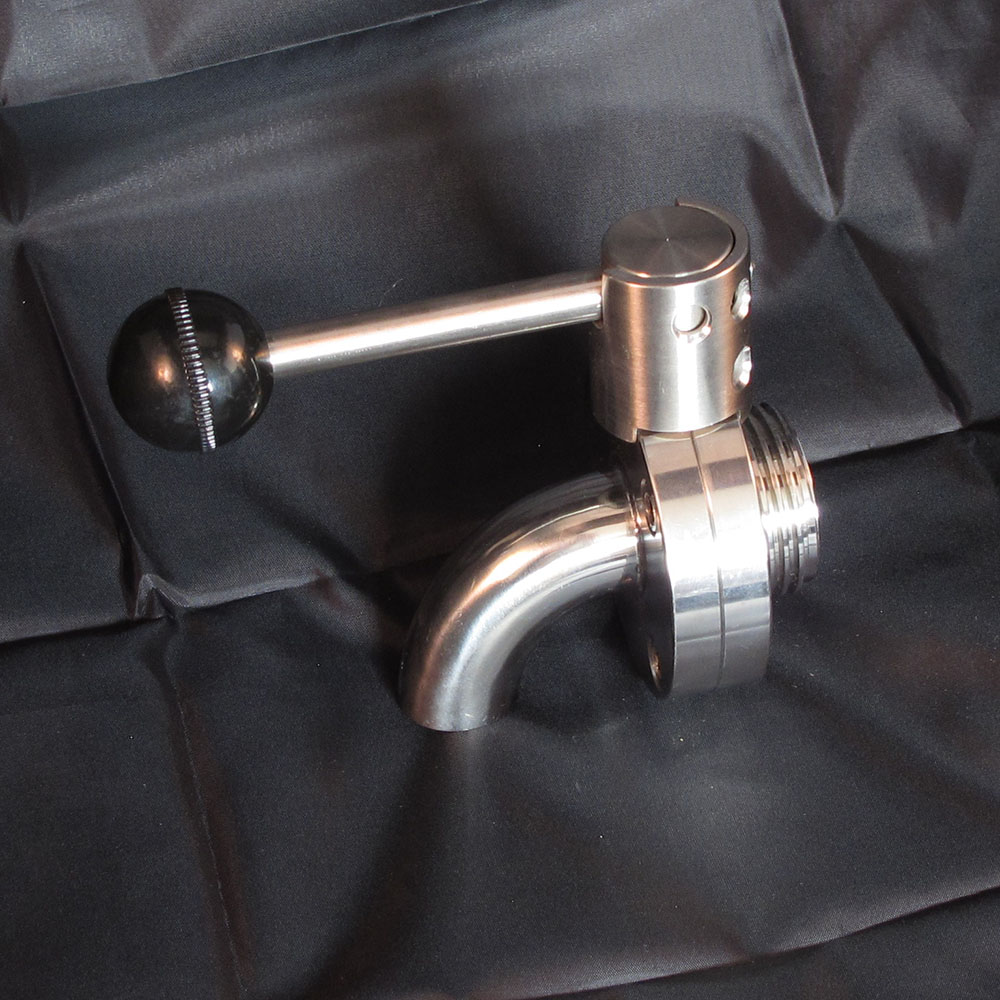 Replacement Butterfly Threaded Drain Valve - Stainless Steel