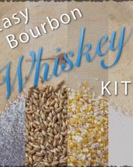 Bourbon Whiskey Ingredients Kit and Recipe
