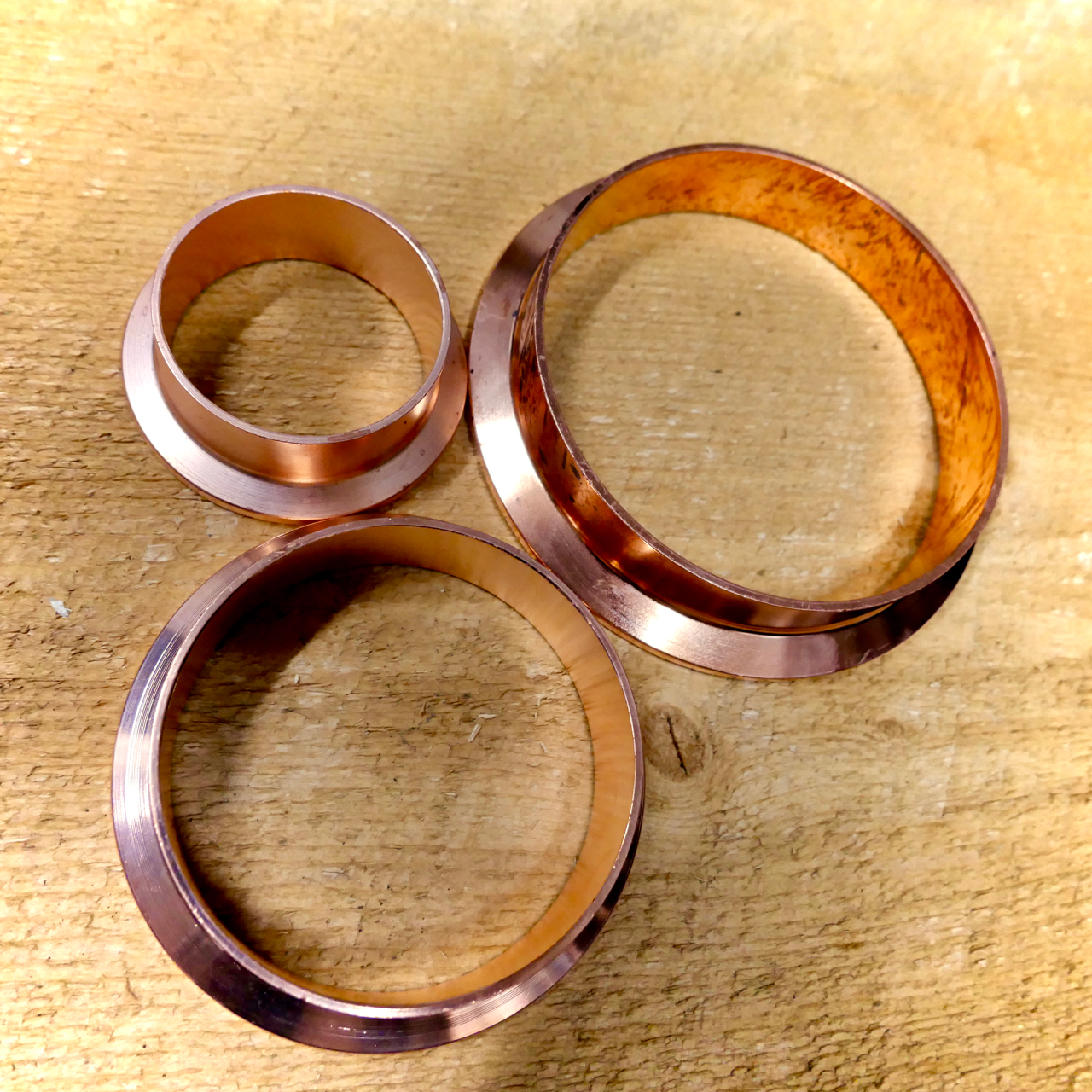 Copper Tri-clover Ferrule - Sanitary Fitting