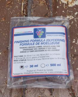 Finishing Formula (Glycerine) - 1 oz