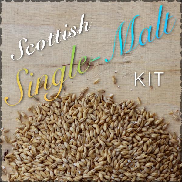 Scottish Single-Malt Ingredients Kit with Recipe