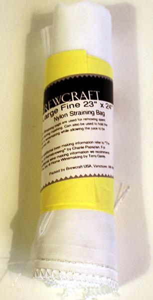 Nylon Sparging Bag 7.8 Gallon - Coarse Bottom