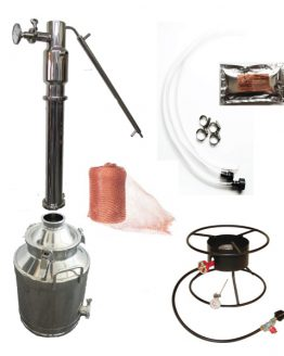 "8 Gallon Stainless Steel Still Kit (Dual Purpose, 2"")"