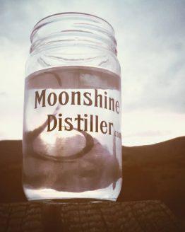 Moonshine Distiller Mason Jar
