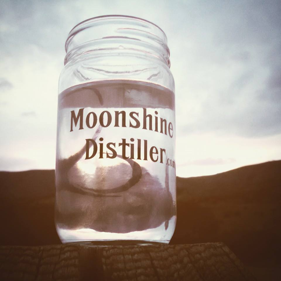 Moonshine Distiller Mason Jar