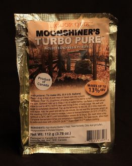 Moonshiner's TurboPure w/ AG & Citric, 112g