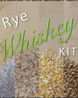 Rye Whiskey Ingredients Kit and Recipe