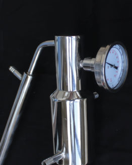 Dual Purpose 2-piece Stainless Steel Still Tower - 2""