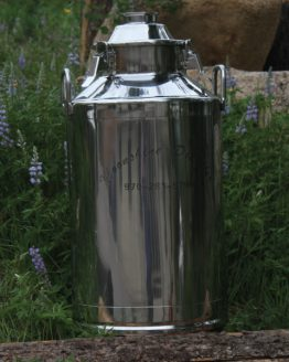 "Stainless Steel Milk Can Boiler - 13 Gallon/3"" Opening (no fittings)"