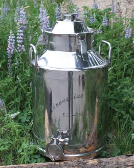 Stainless Steel Milk Can Boiler - 8 Gallon
