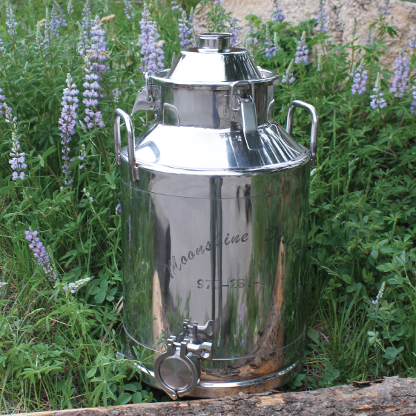 Stainless Steel Milk Can Boiler - 8 Gallon