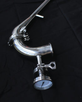 """Traditional Pot Still Head - Stainless Steel, 2"""""""